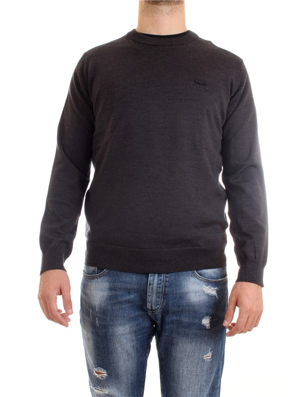 Lacoste AH1969 00 Grey Clothing Man Pullover