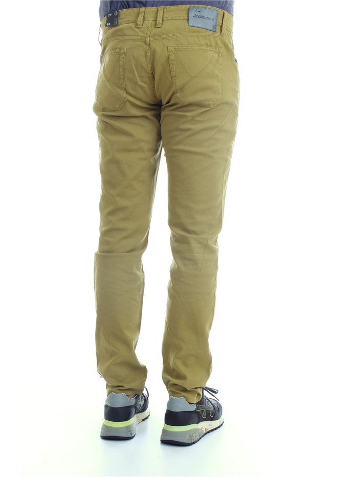 JECKERSON P00UPA077T012389 Green Clothing Man Trousers