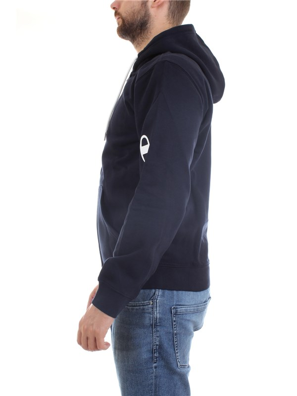 CHAMPION 214745 Blue Clothing Man Sweater