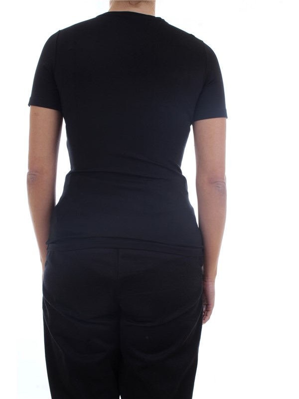 GAELLE PARIS GBD5456 Black Clothing Woman T-Shirt/Polo