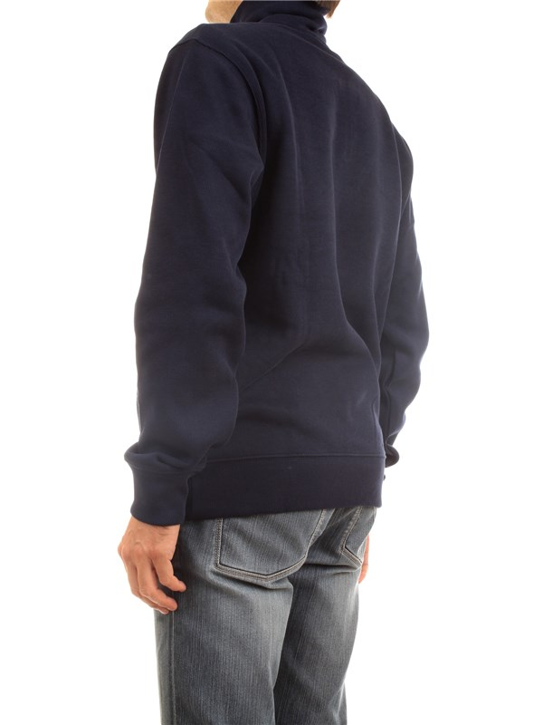 Lacoste SH1927 00 Blue Clothing Man Sweater