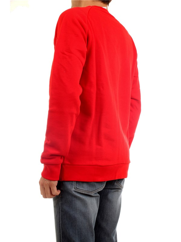 ADIDAS ORIGINALS GD9926 Red Clothing Man Sweater