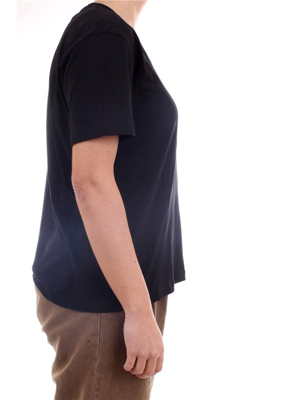 GAELLE PARIS GBD7179 Black Clothing Woman T-Shirt/Polo