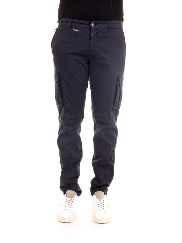 AERONAUTICA MILITARE 211PA1329CT2443 Blue Clothing Man Trousers
