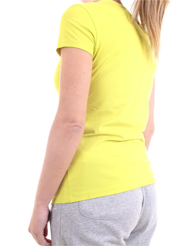 FREDDY S1WBCT1 Yellow Clothing Woman T-Shirt/Polo