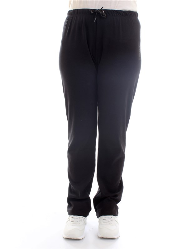 FREDDY S1WBCP10 Black Clothing Woman Trousers
