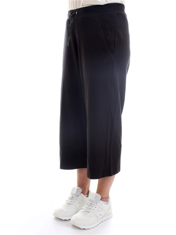 FREDDY S1WBCP15 Black Clothing Woman Trousers