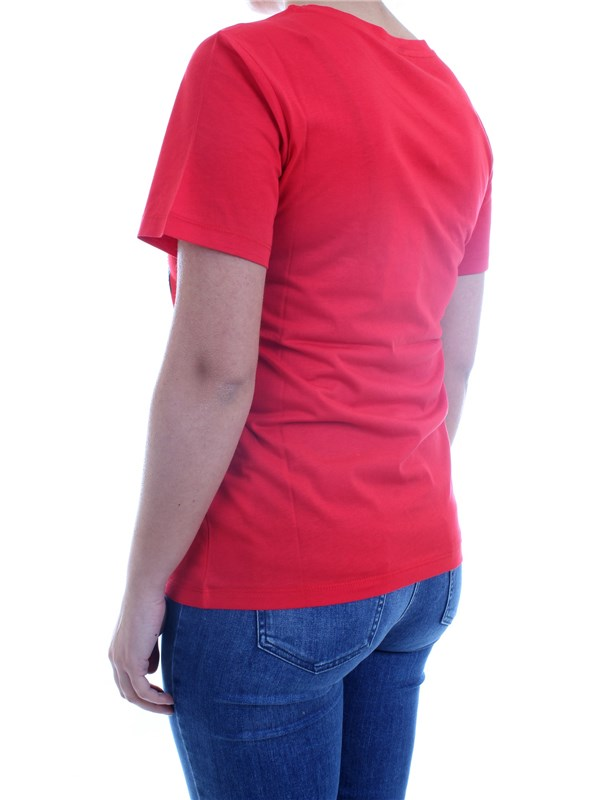 NENETTE - TOUS LES JOURS 31TJ-DUCK Red Clothing Woman T-Shirt/Polo