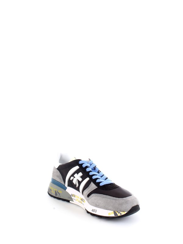 PREMIATA LANDER 5196 Blue Shoes Man Sneakers