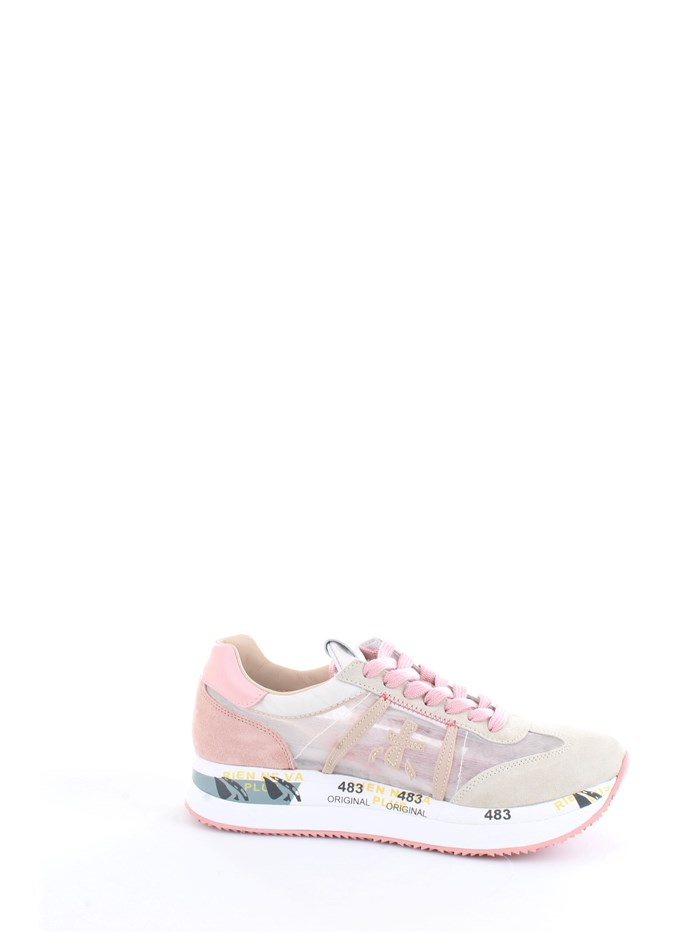 PREMIATA CONNY 5208 Pink Shoes Woman Sneakers