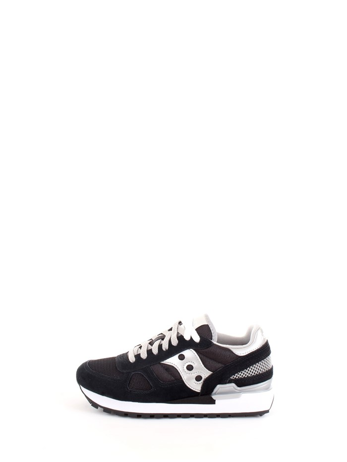Saucony S1108 Black Shoes Woman Sneakers