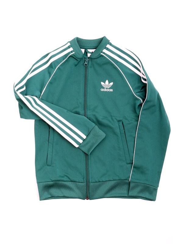 c442529d98b6c ADIDAS DH2650 Verde Abbigliamento Bambino Felpa
