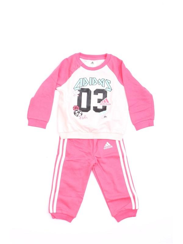 ADIDAS CE9553 Rosa Abbigliamento Bambina Tute da ginnastica f88f6e4192b9