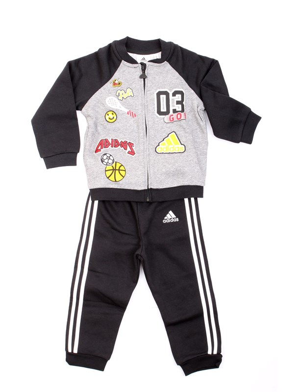 ADIDAS ORIGINALS CE9729 Black Clothing Child Gymnastic suits