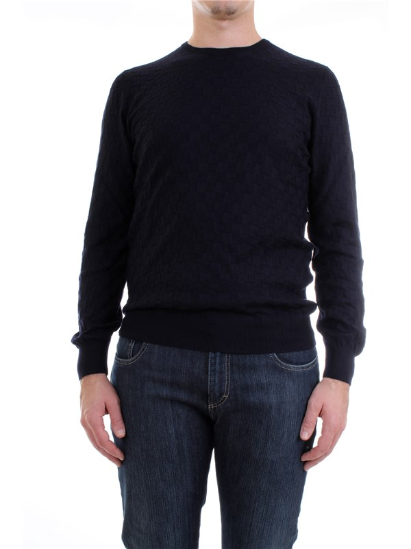 Gran Sasso 57167/14218 Blue Clothing Man Pullover