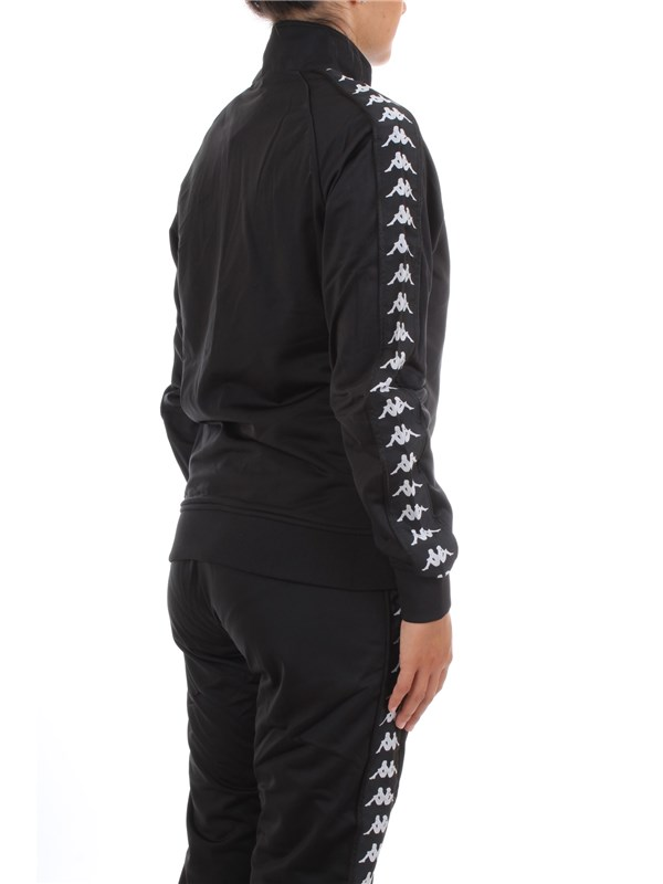 KAPPA 301EFU0 Black Clothing Unisex Sweater