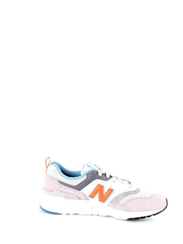 NEW BALANCE CM997 Beige Shoes Man Sneakers