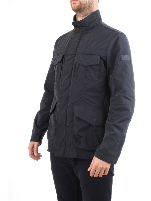 PEUTEREY PEU2806 Blue Clothing Man Jacket