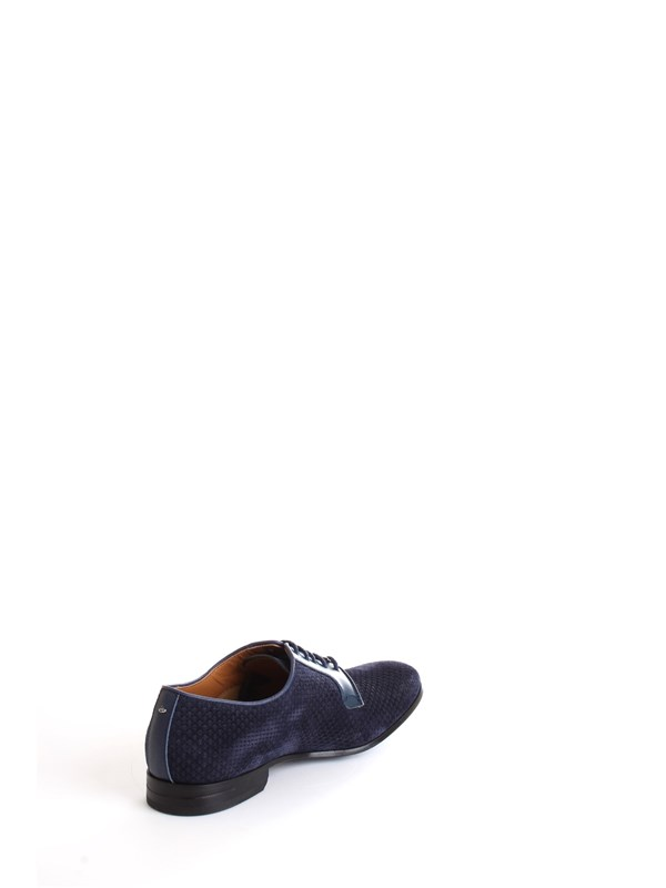 Brimarts 314590N Blue Shoes Man Lace up shoes