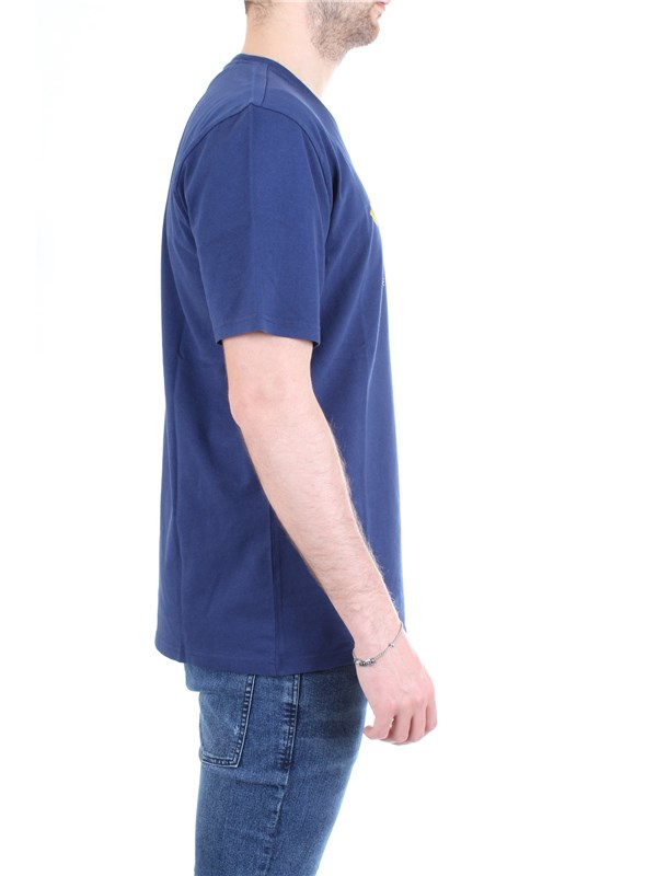 WOOLRICH WOTEE1158 Blue Clothing Man T-Shirt/Polo