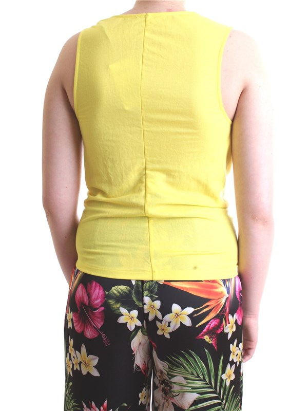PATRIZIA PEPE 2M3750  A4Y7 Yellow Clothing Woman Top